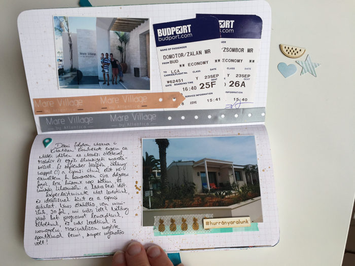 utazóalbum travel journal scrapbolt