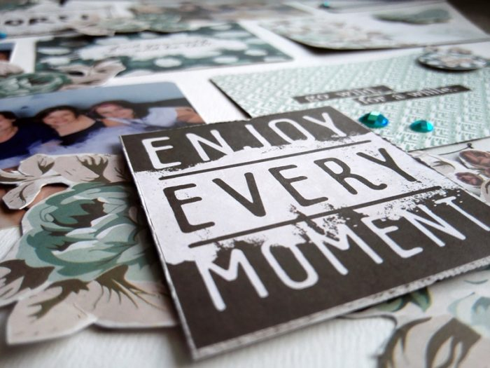 Enjoy every moment - Zella Teal