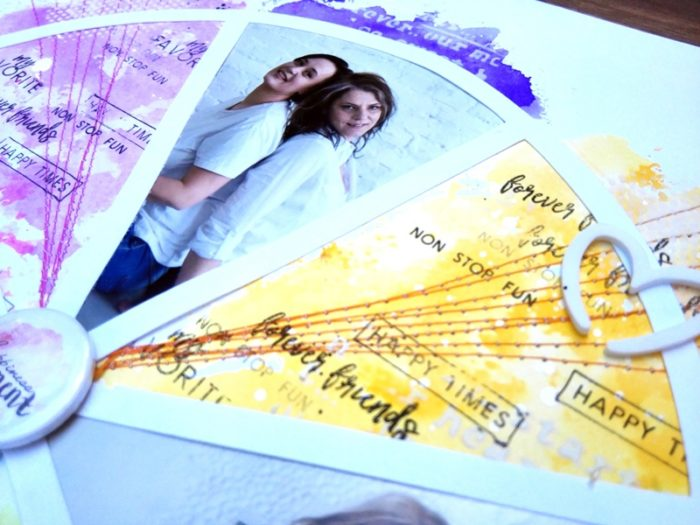 Love this - scrapbook layout