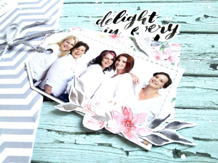 Delight in every moment - scraplift