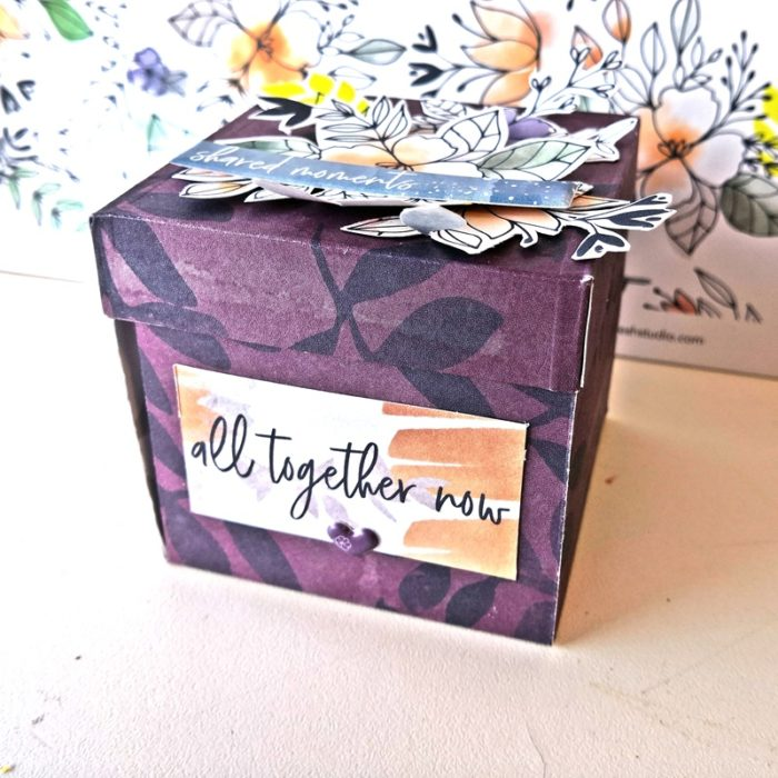 All together - mini dobozalbum - indigo hills 2