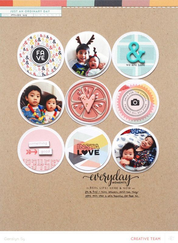 Tutorial _ Using Project Life® Cards on a Scrapbook Layout with Geralyn Sy
